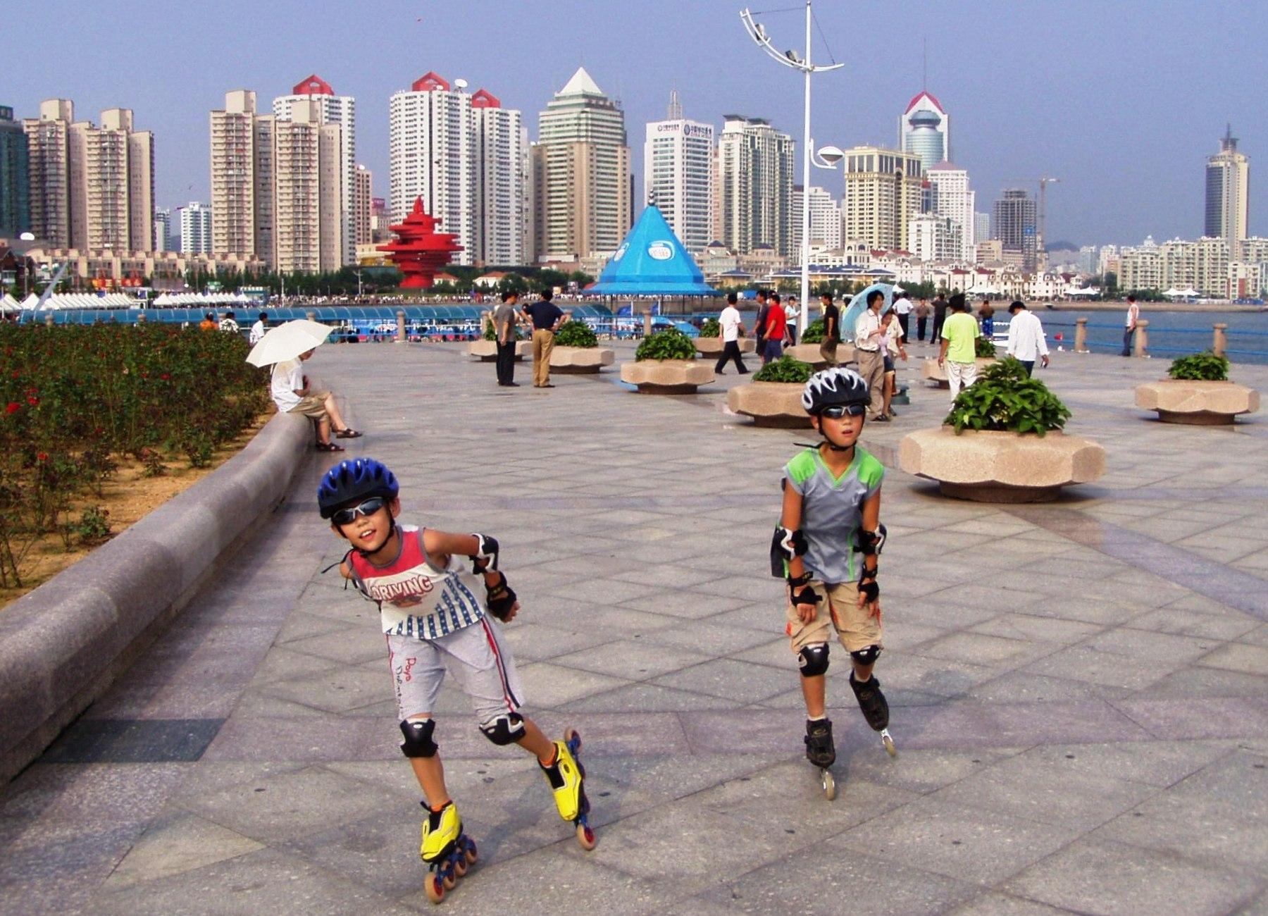 Qingdao-waterfront